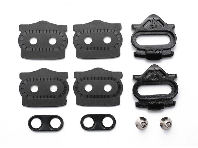 HT X1 Cleat-Kit 4° Floating schwarz